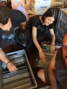 Jean-Blandine-Gerald + dog
