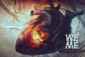 WOE UNTO ME - Among the lightened skies the voidness flashed (COVER ARTWORK)